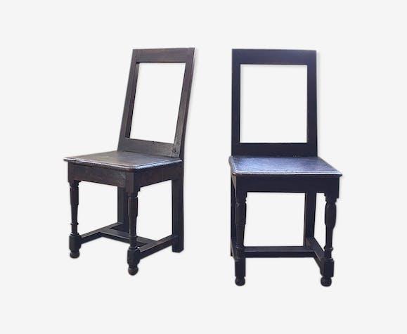 Paire de chaises Lorraine XVIII