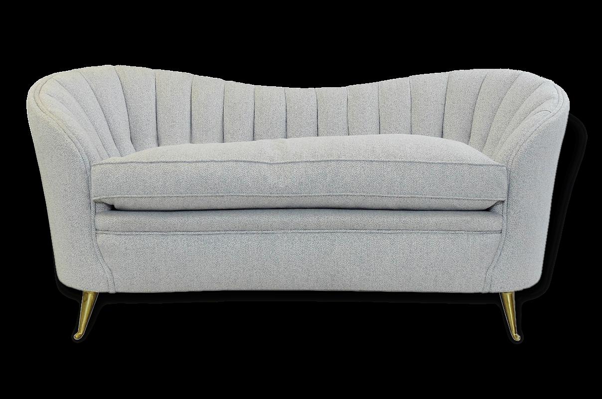 Italian Sofa - Newly Upholstered