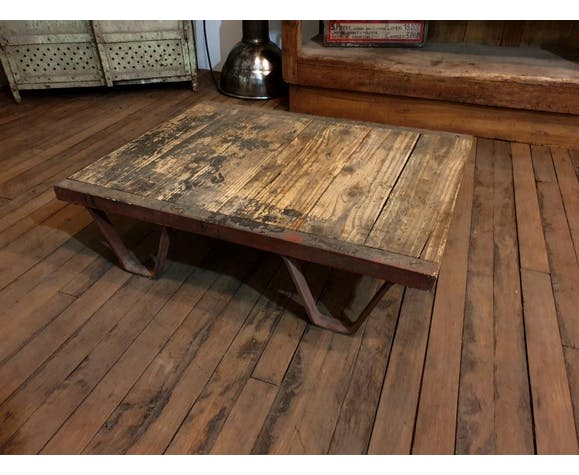 Factory Pallet Coffee Table