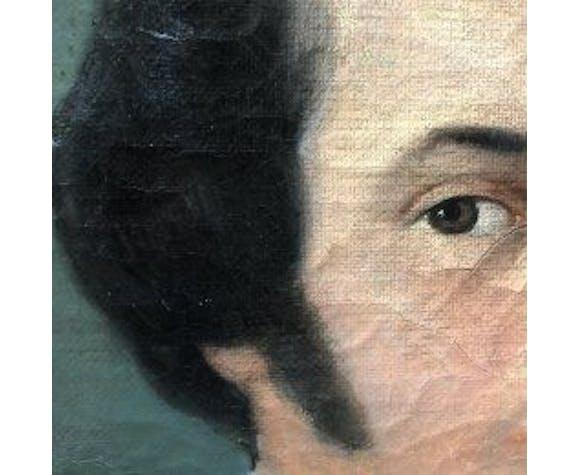 Paire de tableaux couple, 1830