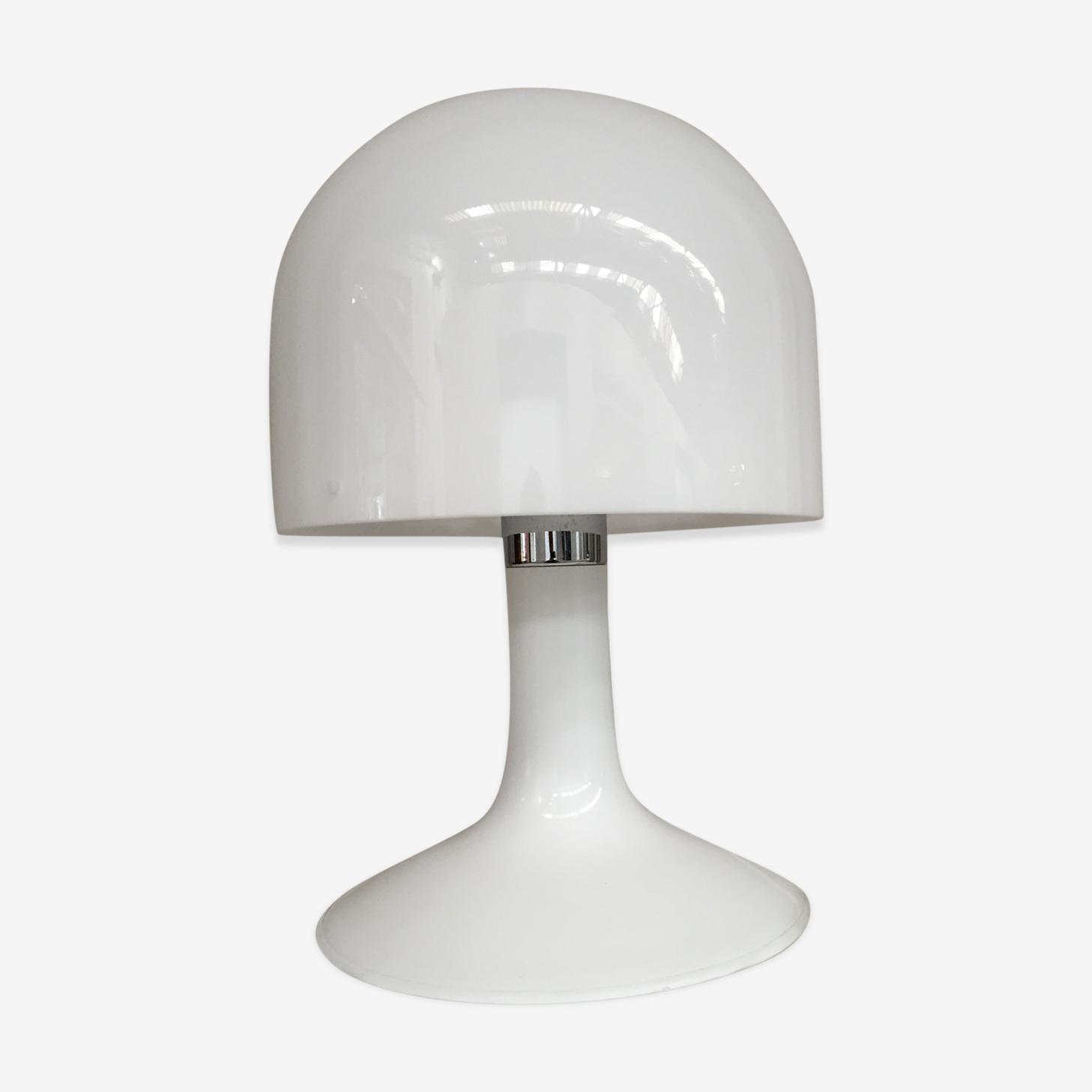 Lampe champignon pléxi design 1970