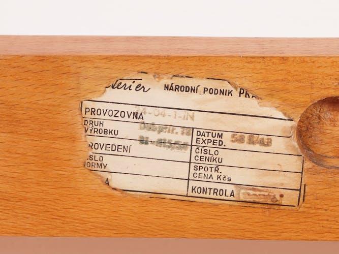 Fauteuil par A. Kropacek et K. Kozelka pour Interier, 1958