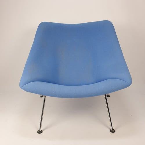 Oyster armchair with ottoman by Pierre Paulin for Artifort, 1980