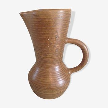 Pichet vintage longue encolure  en céramique