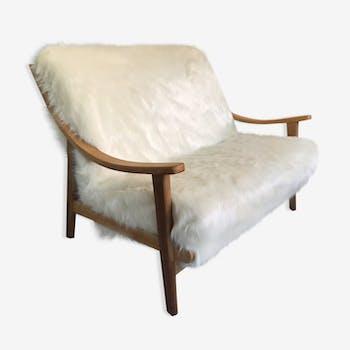 Bench suparest sheep skin 1950