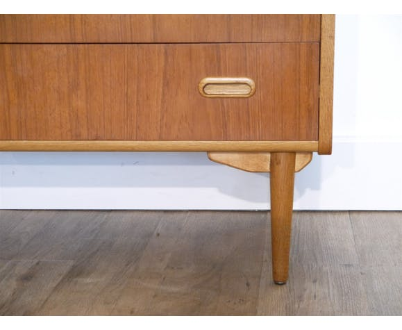 Scandinavian vintage dresser 1960