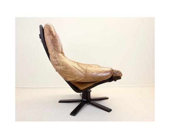 Chaise pivotante scandinave