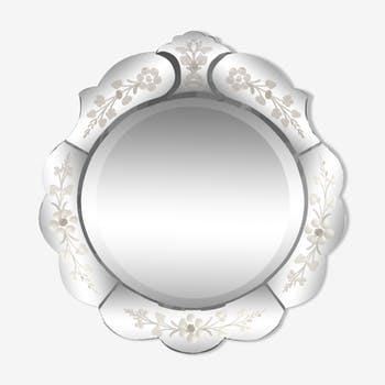Venetian mirror 50 x 44 cm