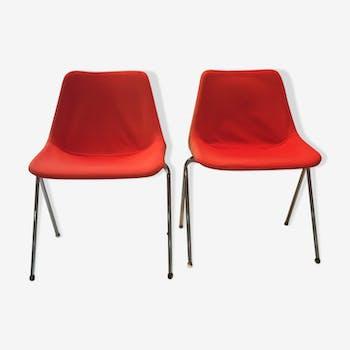 Paire de chaises Hille