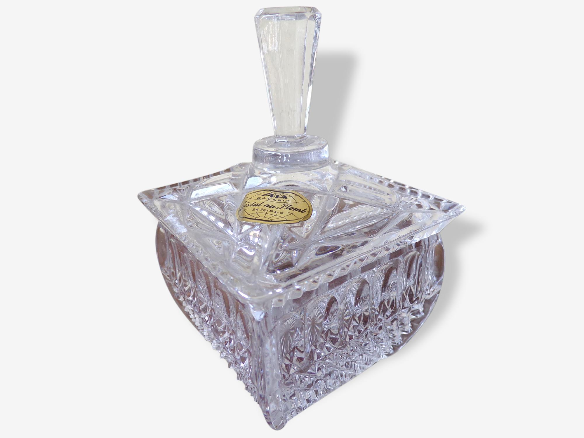 Bonbonière en cristal