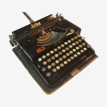 Old Erika portable typewriter