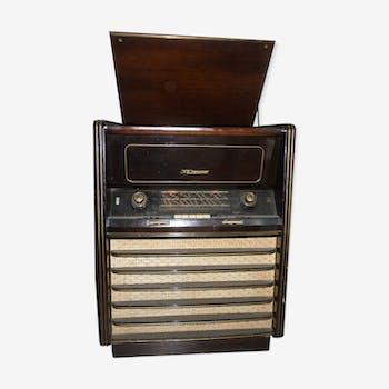 Tourne disque radio 50'