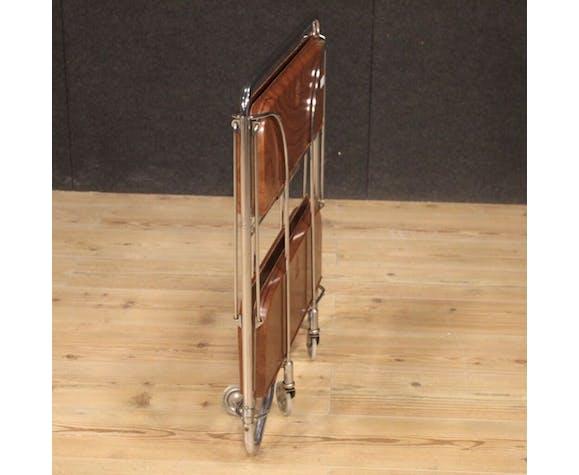 Chariot de service en métal de conception allemand