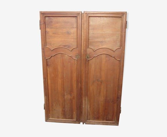 Paire de portes anciennes