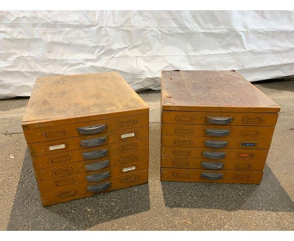Meuble avec tiroir d'atelier