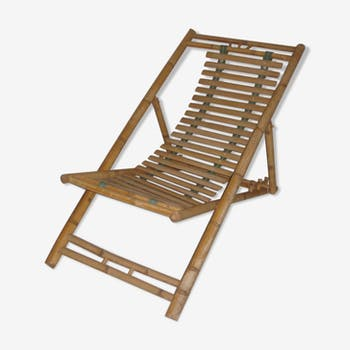 Lounge Chair rattan/bamboo 1960/70