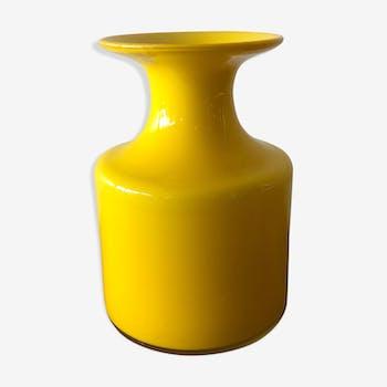 Scandinavian design vase, Holmegaard