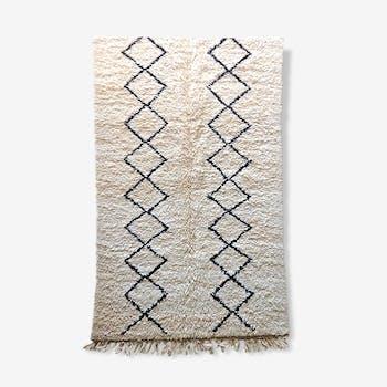 Carpet Berber Beni Ouarain, 132 x 210