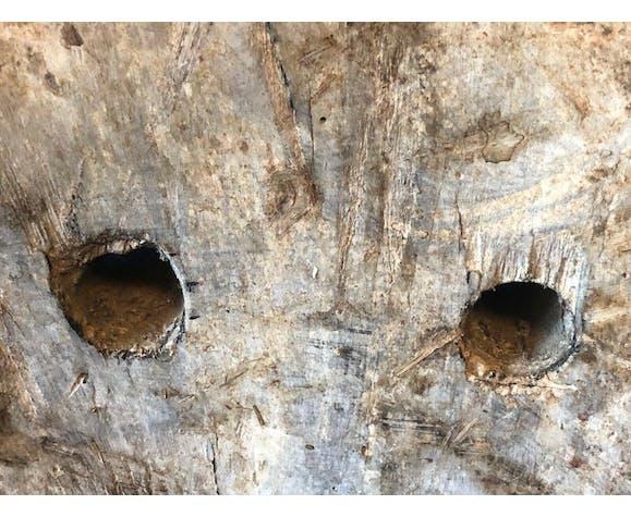 Masque bois Timor Indonésie vers 1970