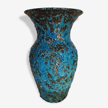 Grand vase émaillé