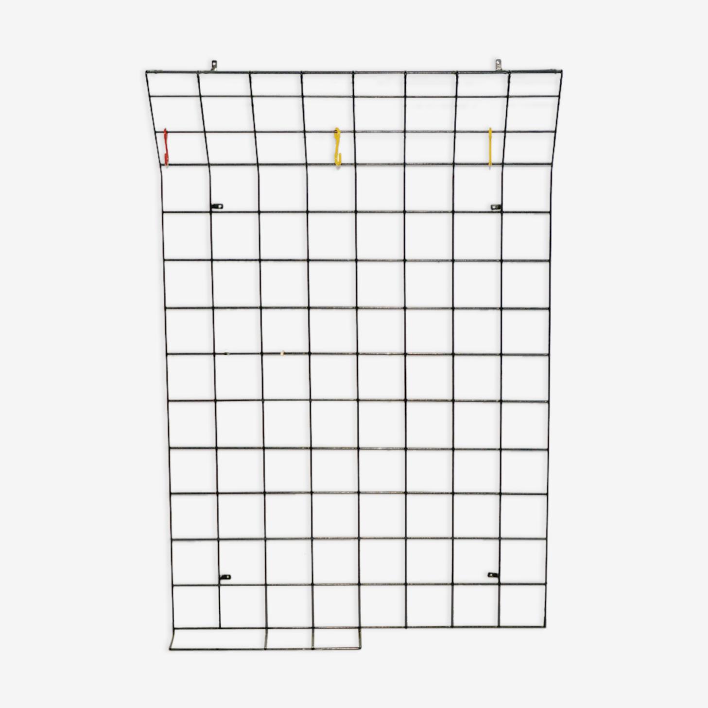 Wall coat rack by Karl Fichtel, 1950