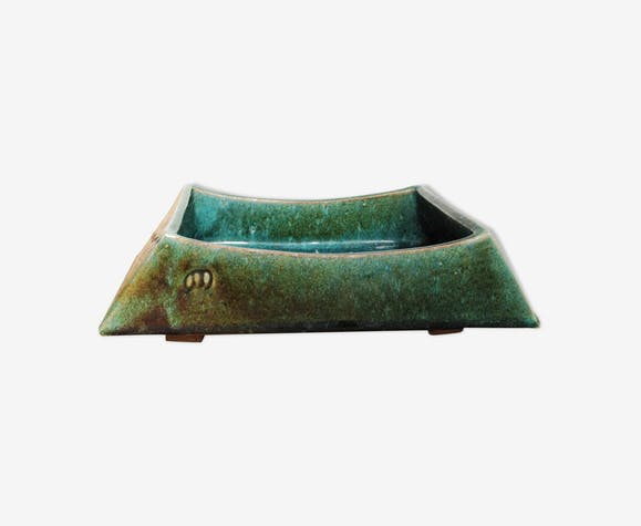 Cache pot en céramique émaillée