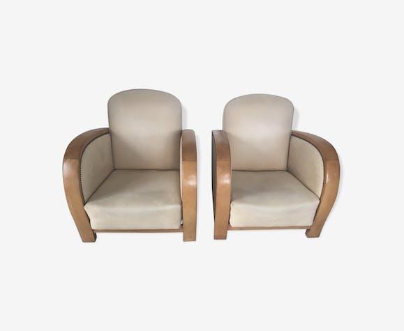 paire de fauteuils art dco modle borman des annees 1930 - Fauteuil Art Deco