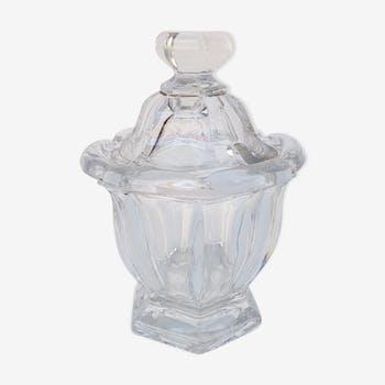 Bonbonnière en cristal de baccarat, modèle harcourt.