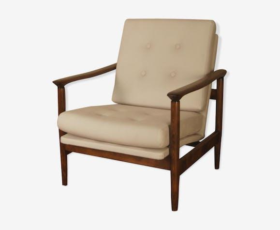Lounge Chair By Edmund Homa For Gościcińska Fort Mebli Poland 1960 S