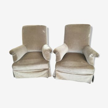 Pair of chairs to rest XIX