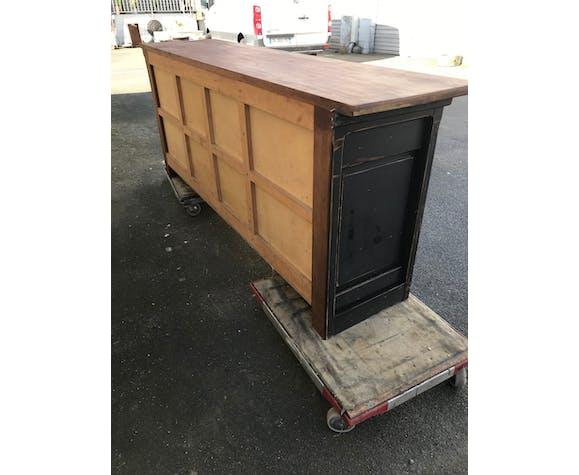 Ancien meuble de mercerie