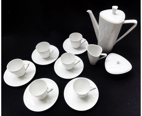 Coffee service apart from Hans Achtziger for Hutschenreuther 1957