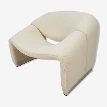 Pierre Paulin F598 Groovy armchair for Artifort 1980s