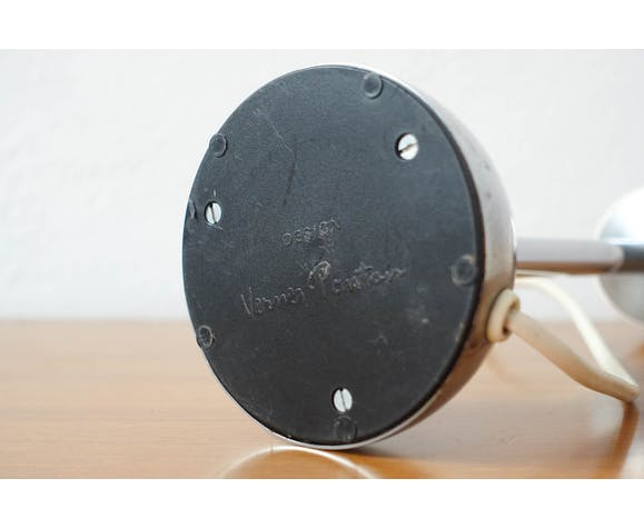 Lampe de table Pantop D par Verner Panton edition Elteva