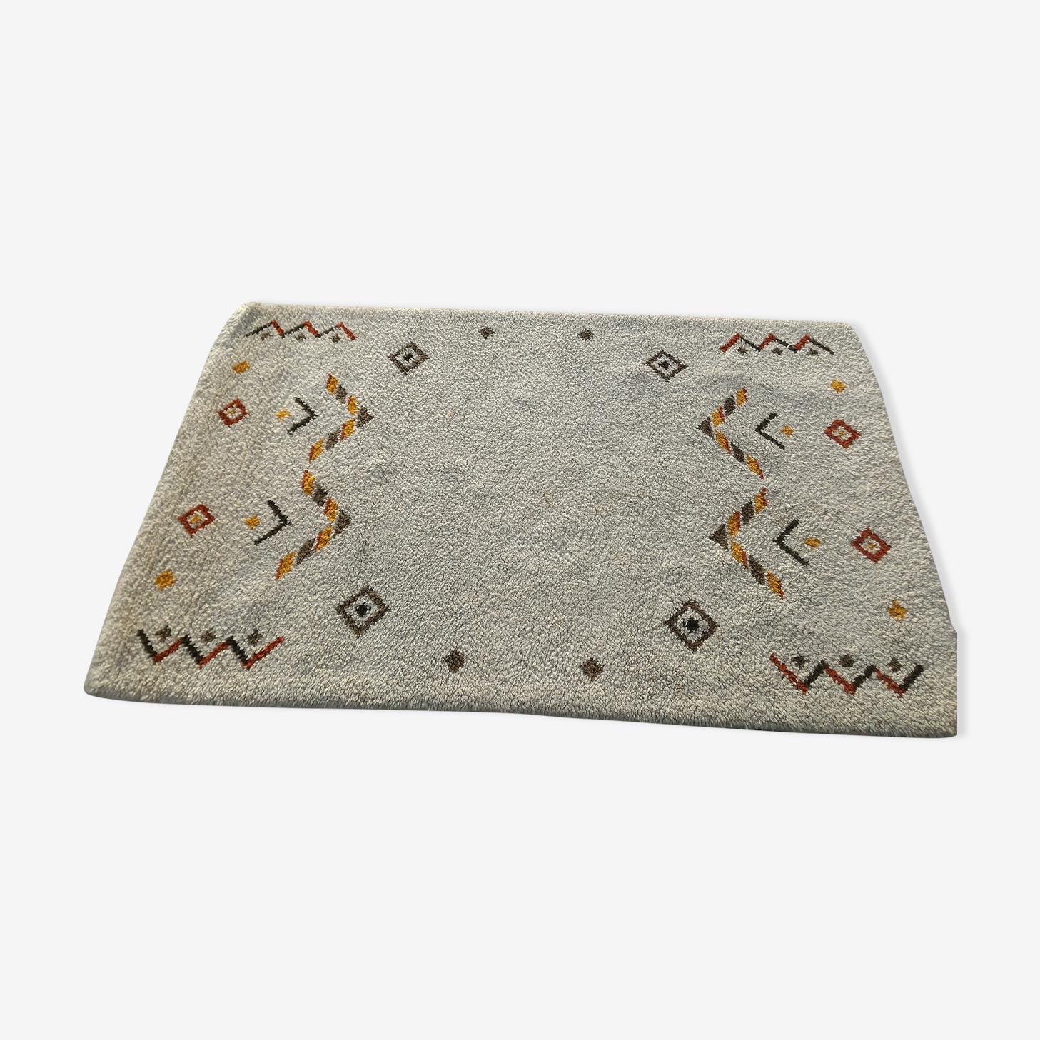 Tapis marocain en laine 160x90 cm