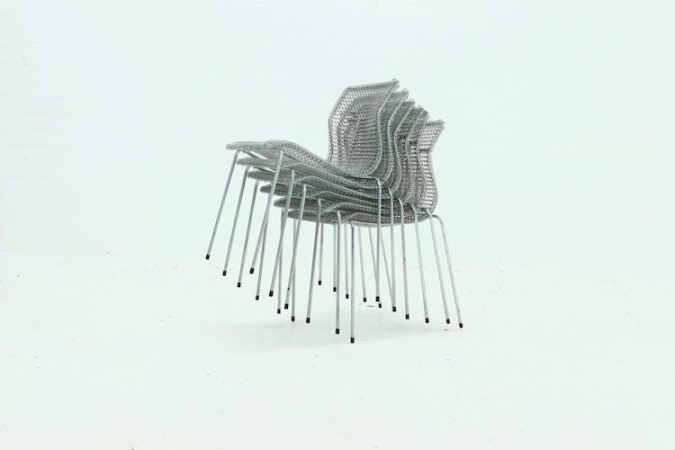 "Ensemble de 6 chaises ""Rascal"" par Niall O'Flynn pour 't Spectrum, 1997"