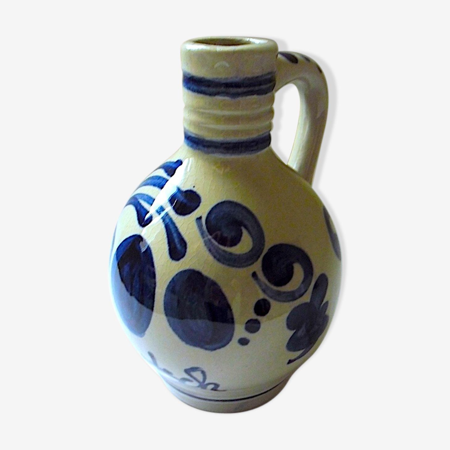 Cruchon à liqueur en faïence de Meissen