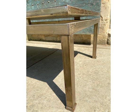 Table basse design Guy Lefevre Maison Jansen