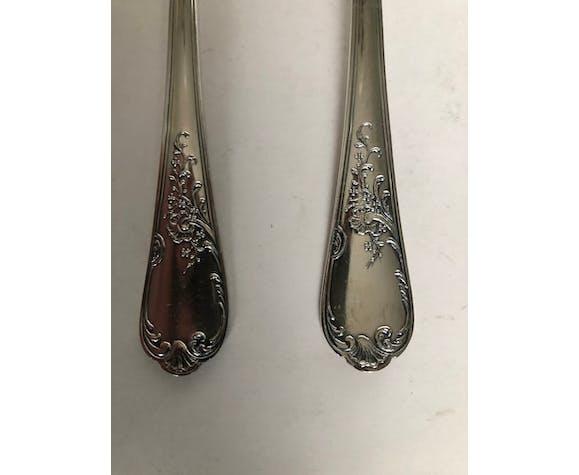 Ménagère en métal argenté 24 pièces