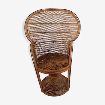 fauteuils vintage et anciens d 39 occasion. Black Bedroom Furniture Sets. Home Design Ideas