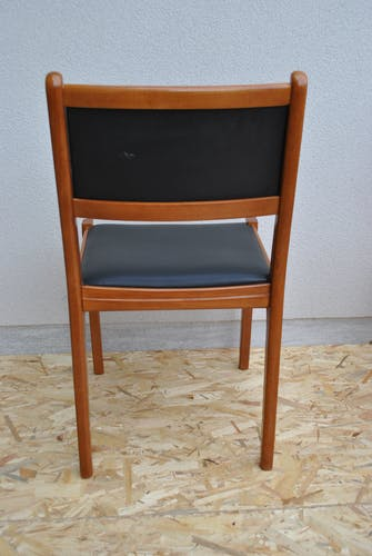 Lot de 6 chaises vintage