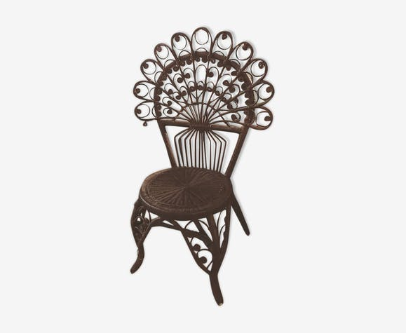 Chaise Peacock vintage
