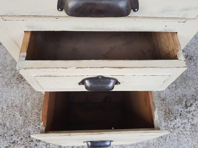 Meuble tiroir caisse d' alimentation années 40