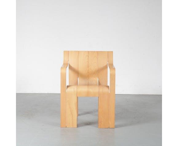 Strip Dining Chair By Gijs Bakker For Castelijn Netherlands 1970 Selency