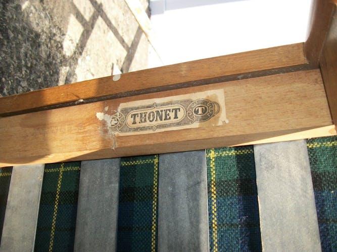 Fauteuil vintage Thonet
