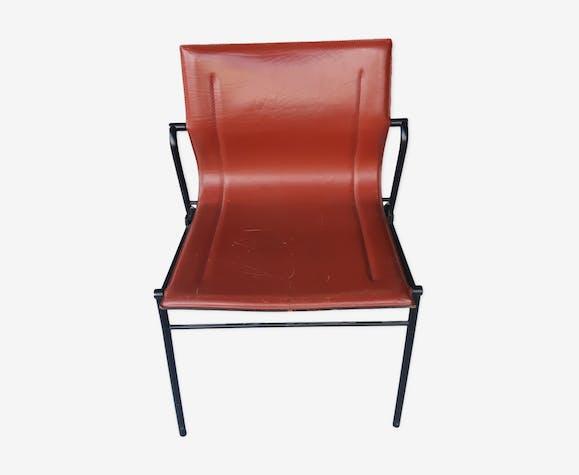 Chaise Design Cuir Matteo Grassi