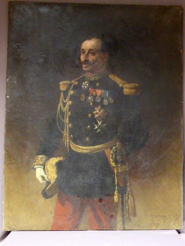 Picture Portrait of General Pittie signed Armand-Dumaresq
