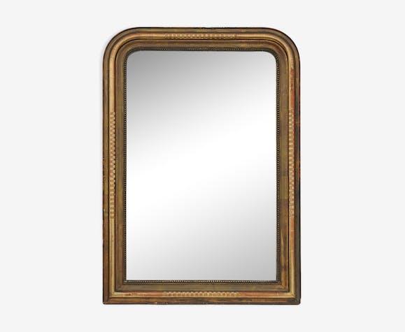 Louis Philippe period mirror 87x125cm