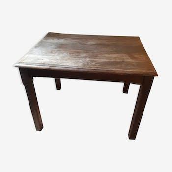 Table de campagne en bois