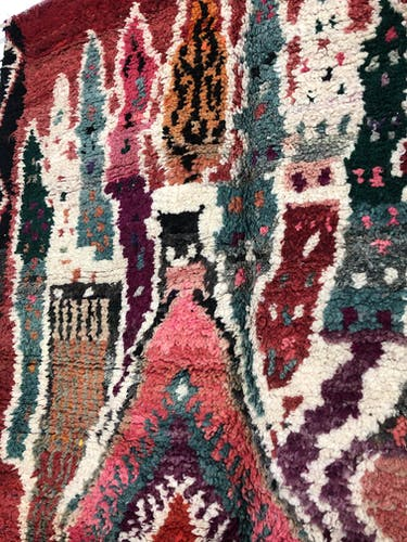 Tapis berbère marocain Boujaad 2,52x1,63m